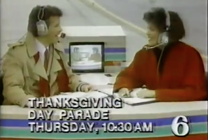 6ABC teaser for the 1984 Gimbel's Thanksgiving Day Parade.