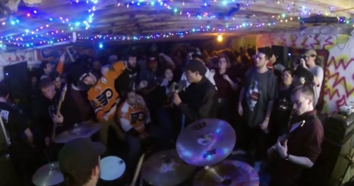 the evolution of the philly basement show