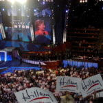 Hillary Clinton speaks at the 2008 Democratic National Convention.