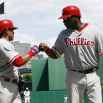 Carlos Ruiz and Ryan Howard.