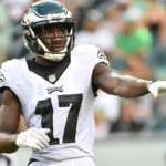 Philadelphia Eagles wide receiver Nelson Agholor