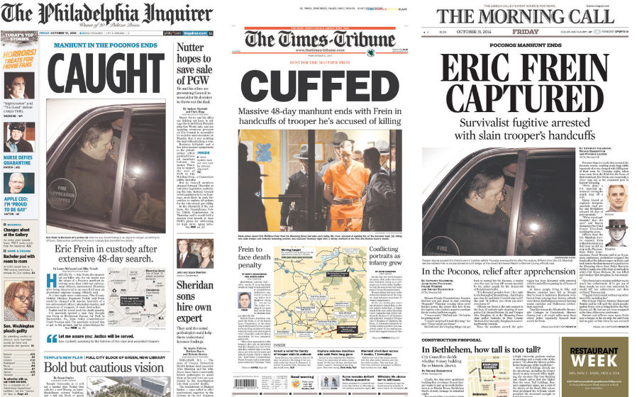 NewspaperFrontPages