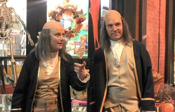 Ben franklin costumes