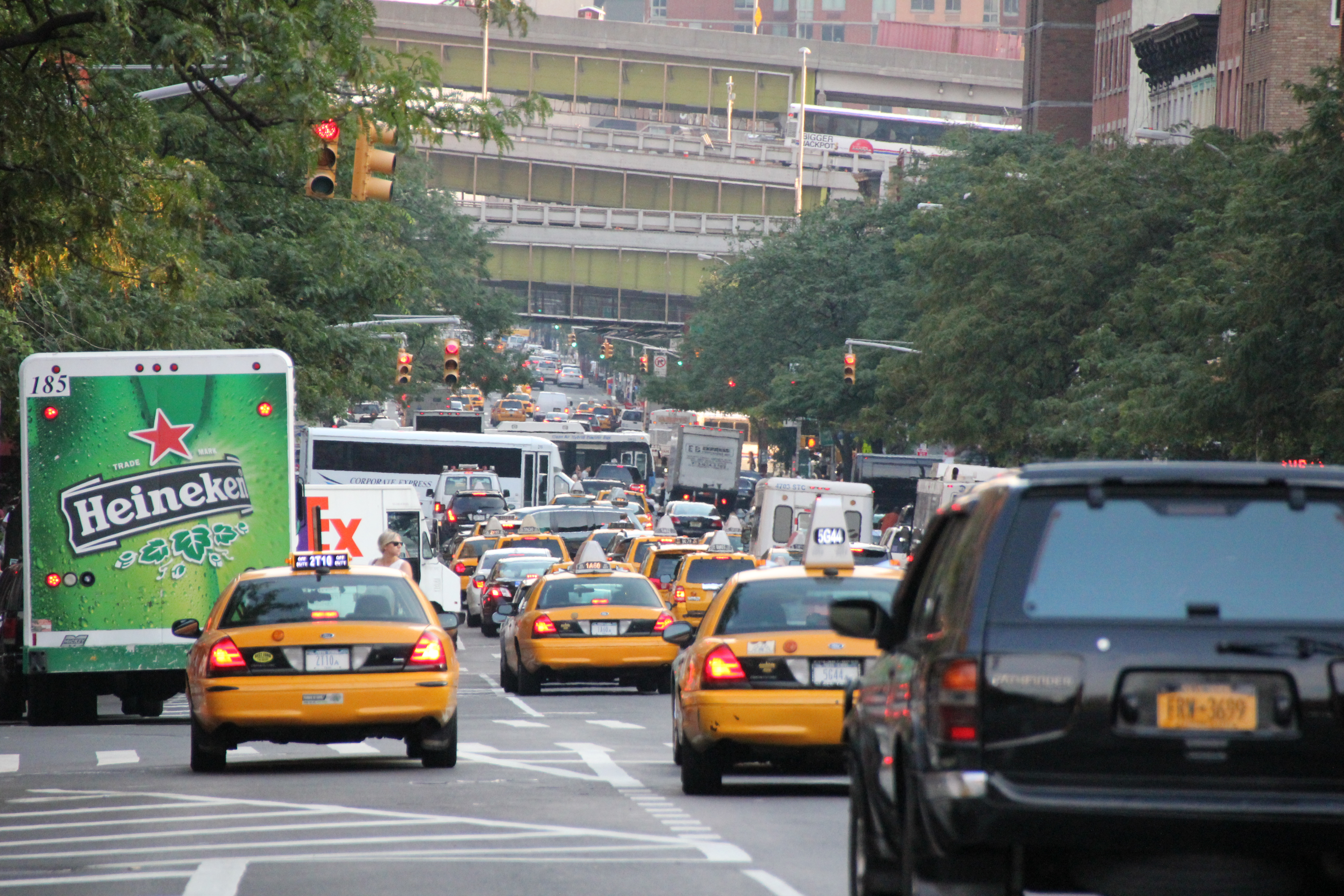 traffic new york