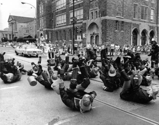 Mummers firemen 1976