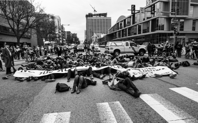 philly die-in