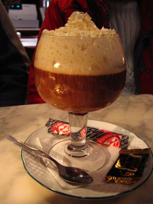 Warmth irish coffee