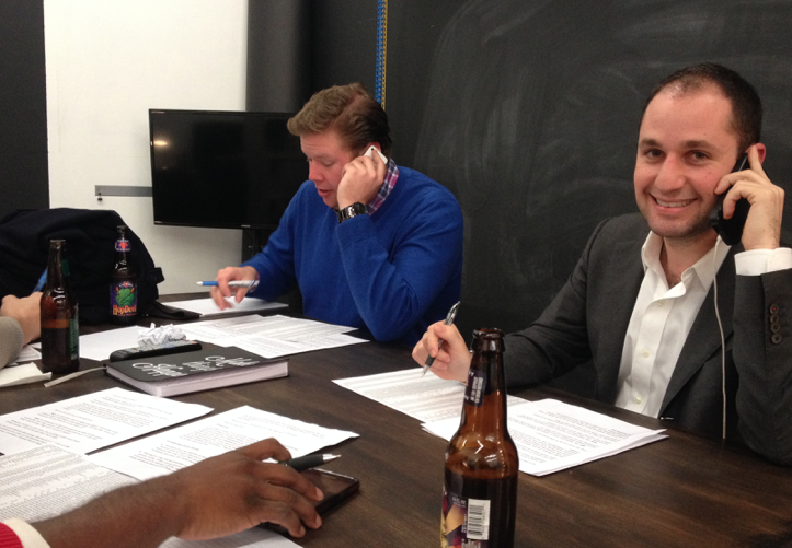Young Involved Philly held a phone bank to try to increase young voter turnout in 2014.