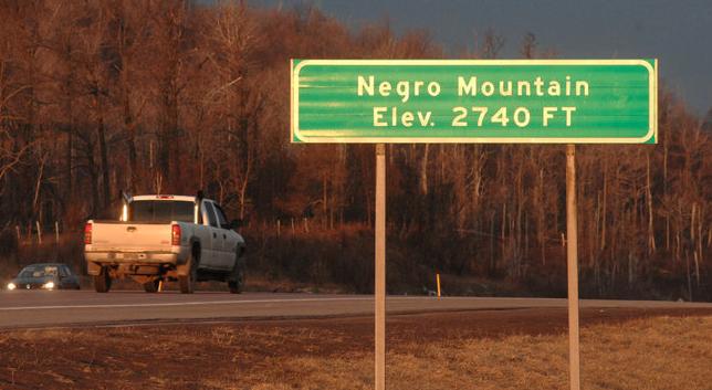 negro mountain
