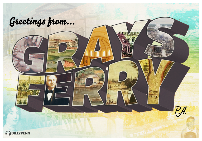 Grays Ferry postcard