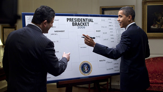 March Madness Obama
