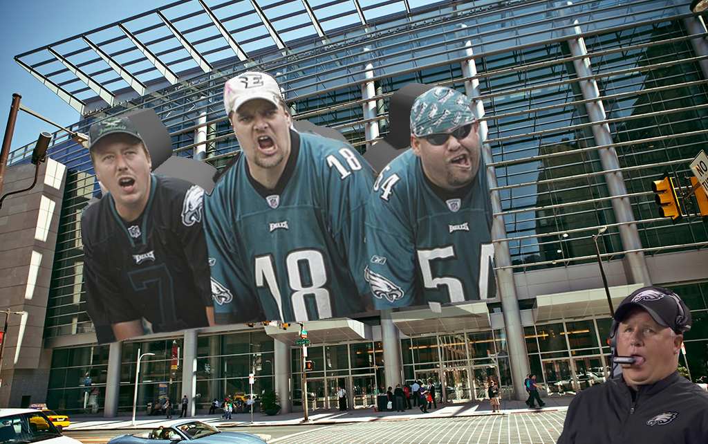 angry eagles fans