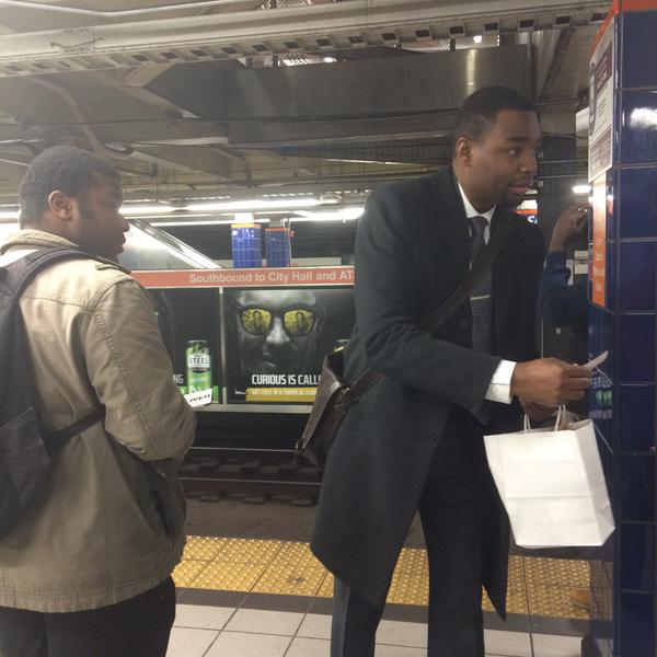 Dougie O subway