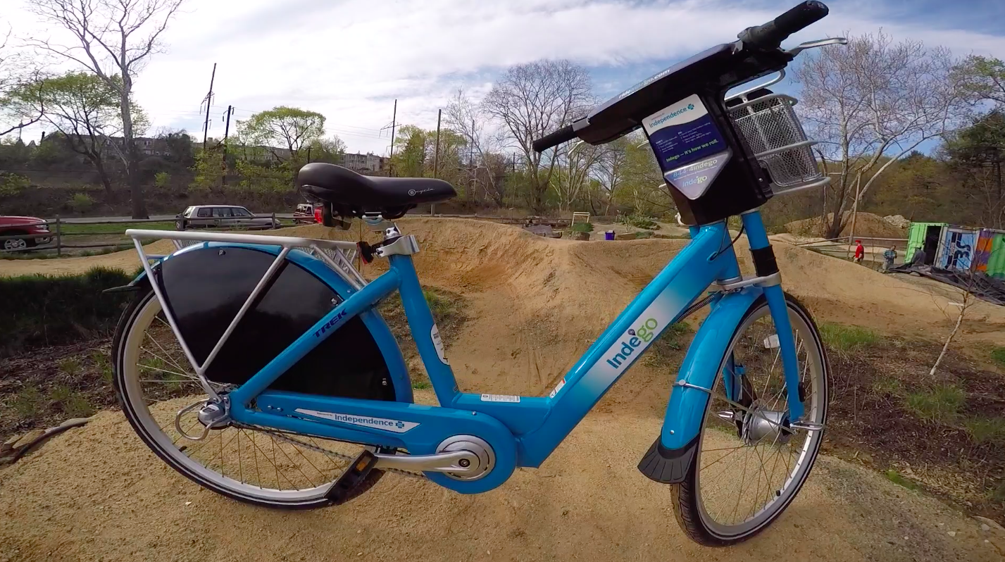 indego at pumptrack