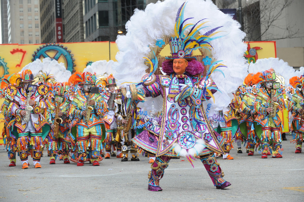 Two Street is the place to be on New Years Day with the Mummers. Just ask Mayor-elect Jim Kenney.