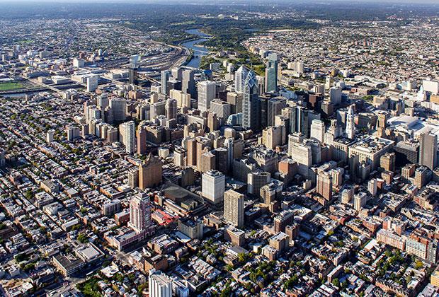 Philadelphia Aerial