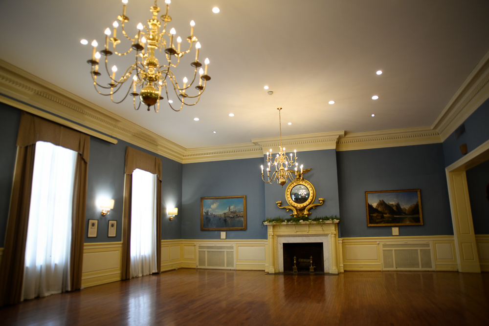 Event space at the Racquet Club of Philadelphia.