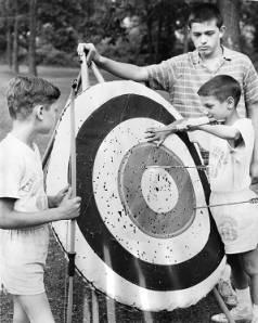 Camp – rainbow archery