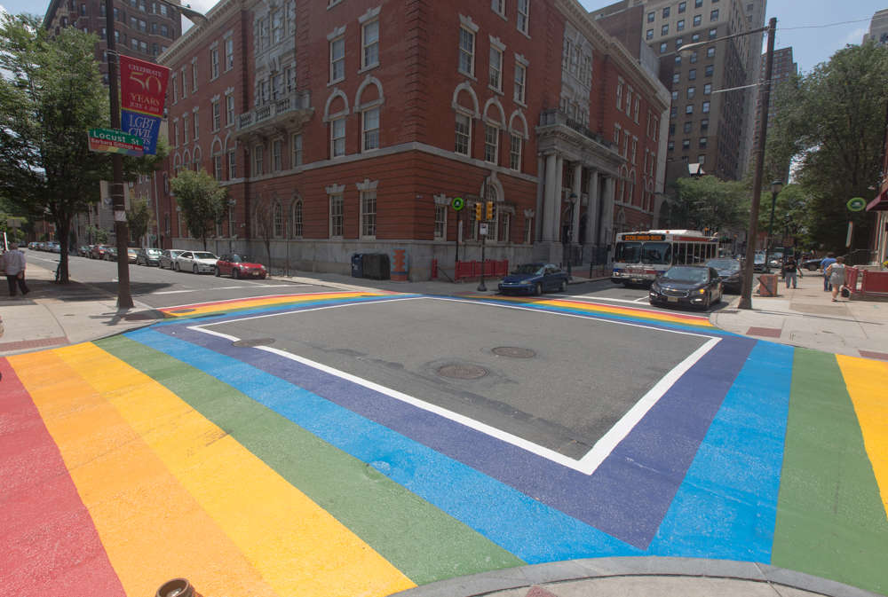 Crosswalks in the Gayborhood