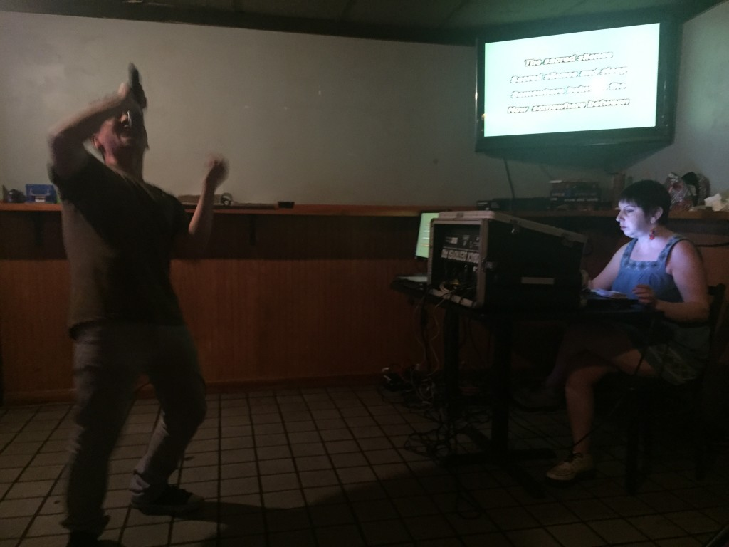 For many people, their moment of Karaoke stardom is seen by an audience of one: Sara Sherr