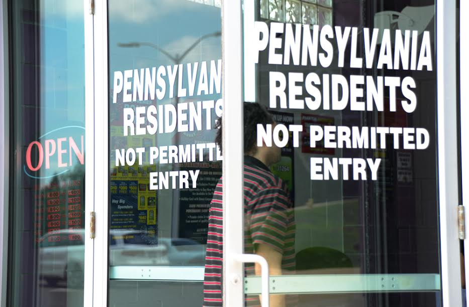 PA residents not permitted