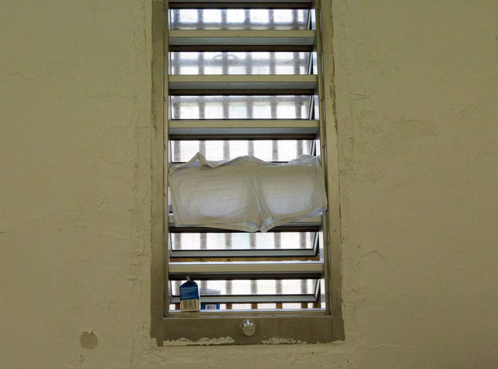 A window in the House of Correction.