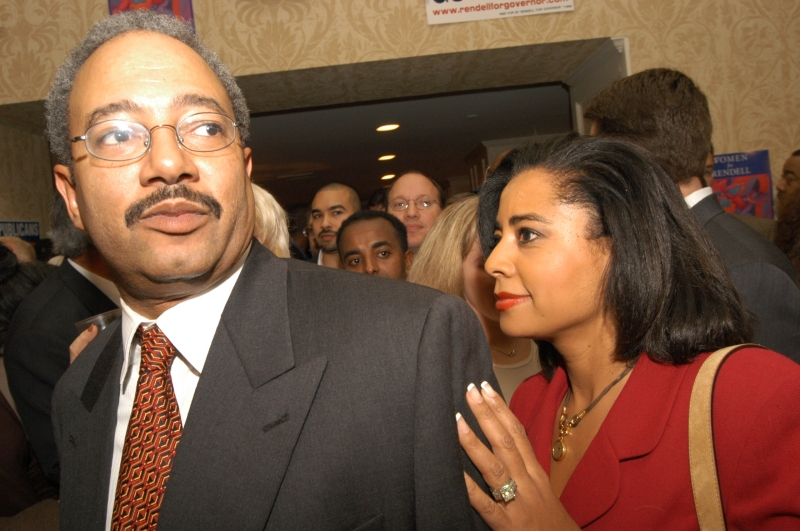Chaka Fattah and wife Renee Chenault-Fattah
