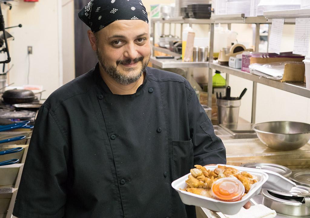 Ippolito's chef Gregg Mirigliani