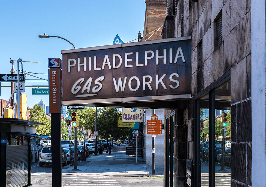 Philadelphia Gas Works on South Broad