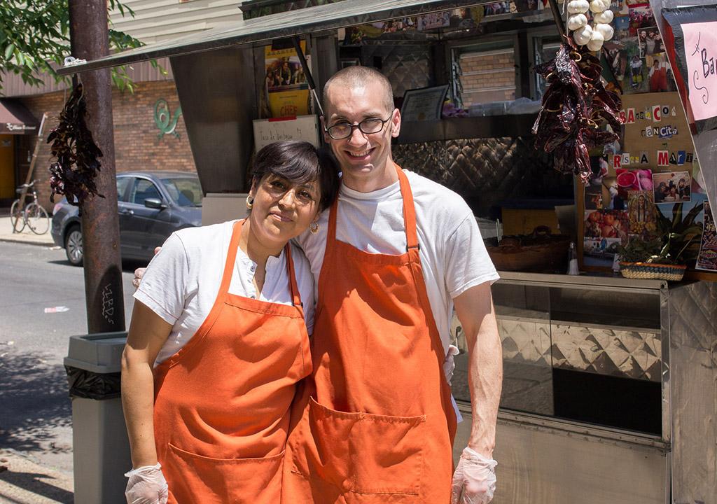 Cristina Martinez and Benjamin Miller