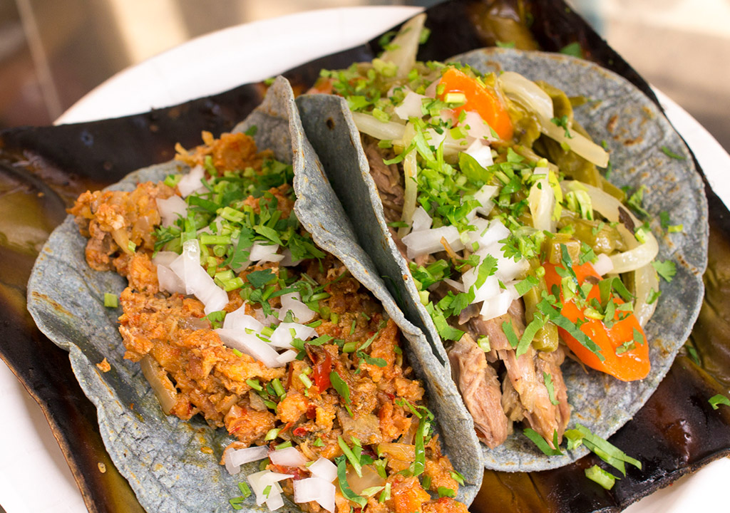 Pancita and barbacoa tacos from South Philly Barbacoa