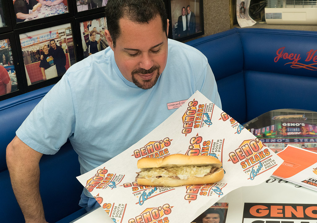 Geno Vento still eats cheesesteaks, he says, but in moderation