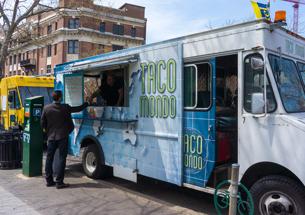Taco Mondo and Undrgrnd Donuts were two of the 'gourmet' trucks that get their start near Drexel
