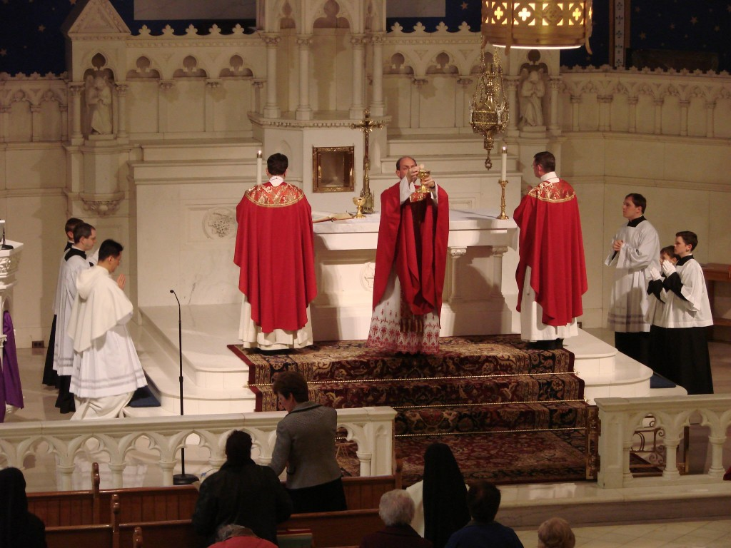 Kneel! The layman's guide to Catholic Mass - On top of