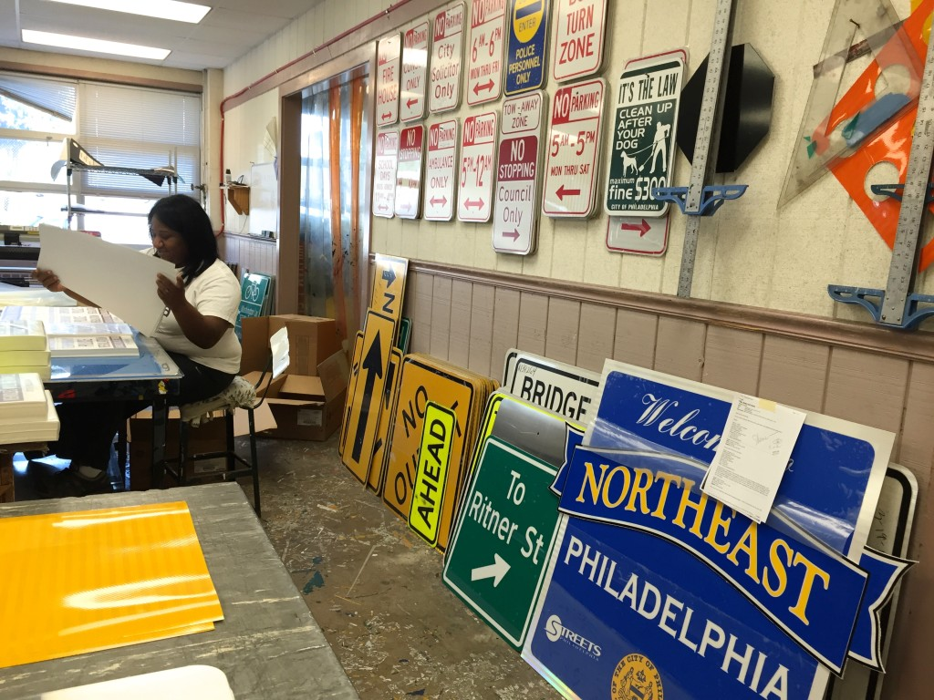 The Philadelphia Sign Shop.
