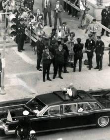 Pope motorcade