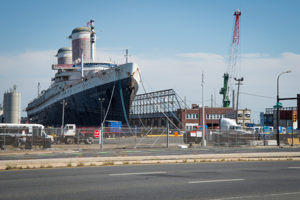 The story behind that massive ship across from IKEA: Once