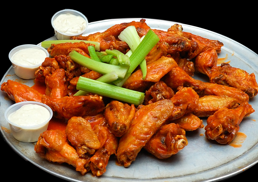 Wings at the Anchor Bar in Buffalo, N.Y., where the dish was (probably) invented