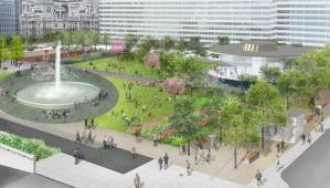 Love Park redesign