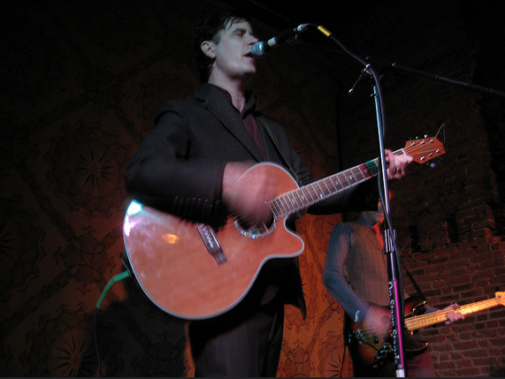 The Mountain Goats at North Star Bar in 2007.