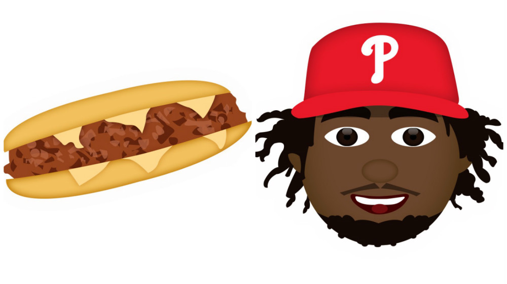 Phillies emoji! They're not in the playoffs, but at least