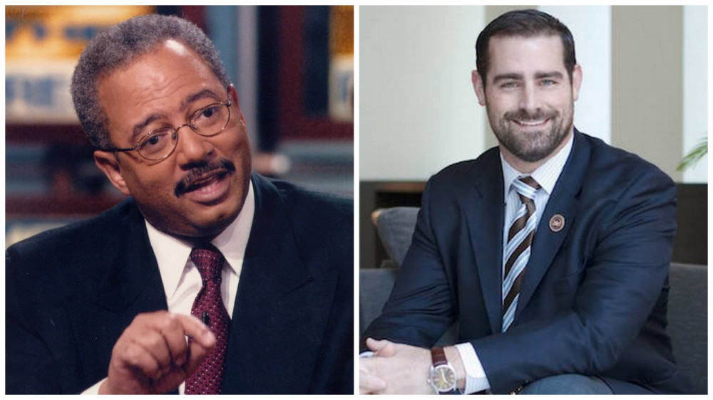 Chaka Fattah, left, and Brian Sims, right