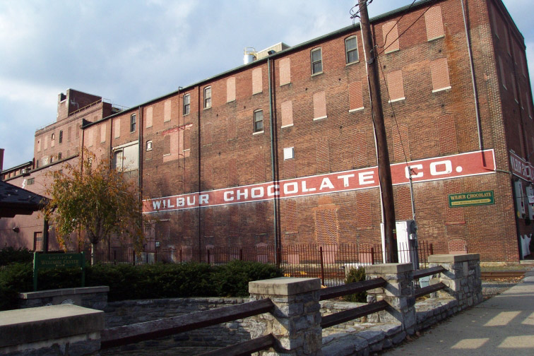 Wilbur was one of Philadelphia's first candy manufacturers