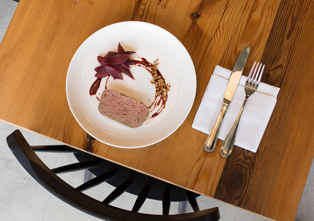 Wood and meat make delicious art at Kensington Quartery