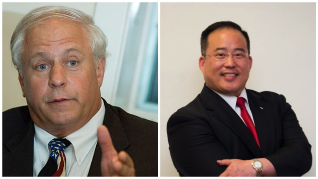 From left: Al Taubenberger, David Oh