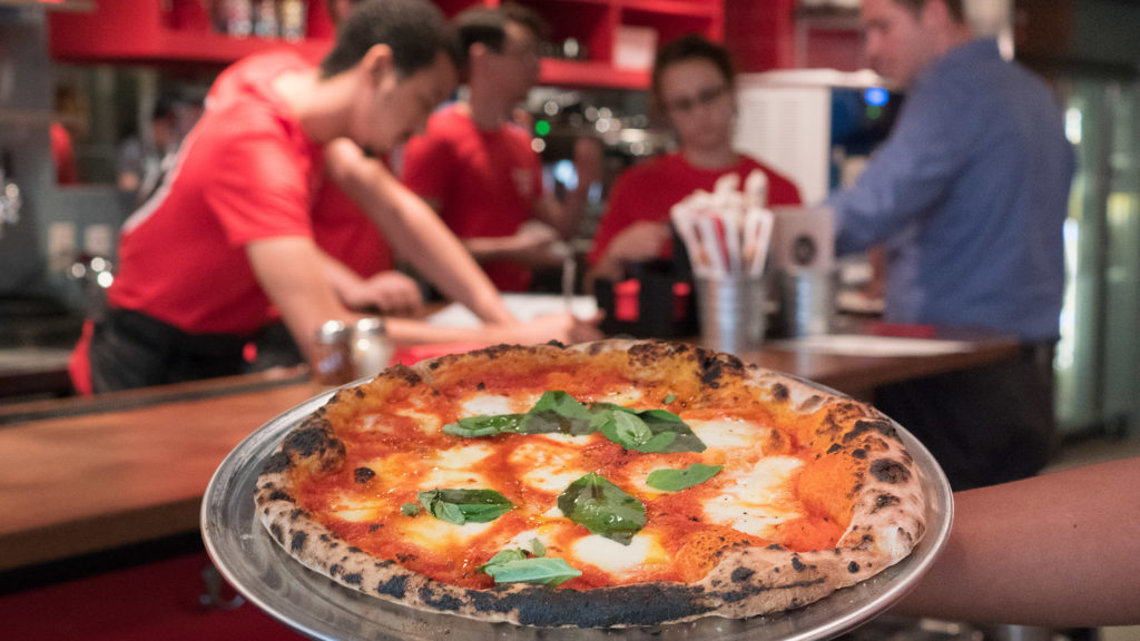 Pizzeria Vetri plays a starring role in the deal