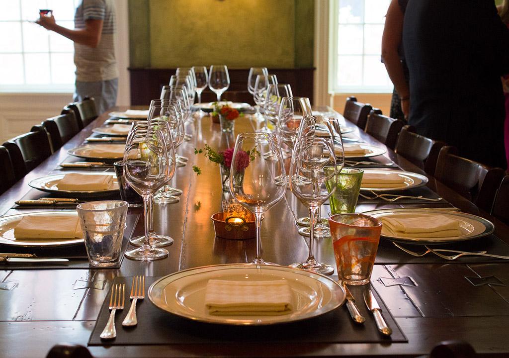 The dining room at Vetri Cucina