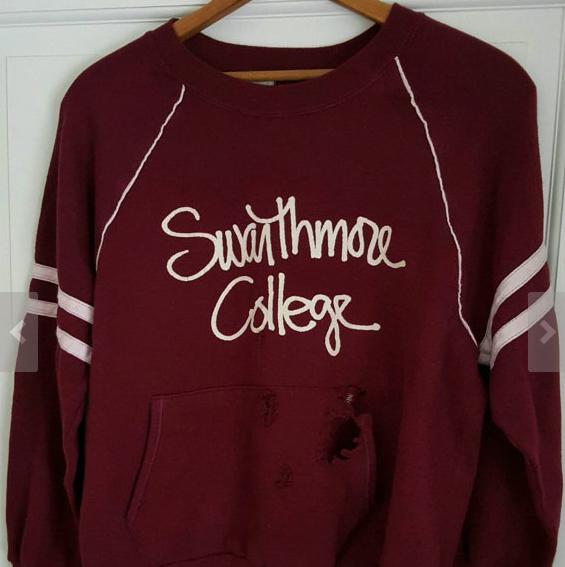 Swarthmore sweatshirt