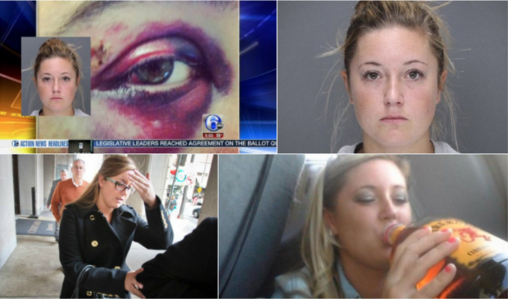 "These are the photos that appear when running a Twitter search for ""Kathryn Knott."""