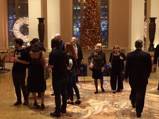 The Waldorf Astoria lobby on Friday night, lacking the energy most associate with Pennsylvania Society.